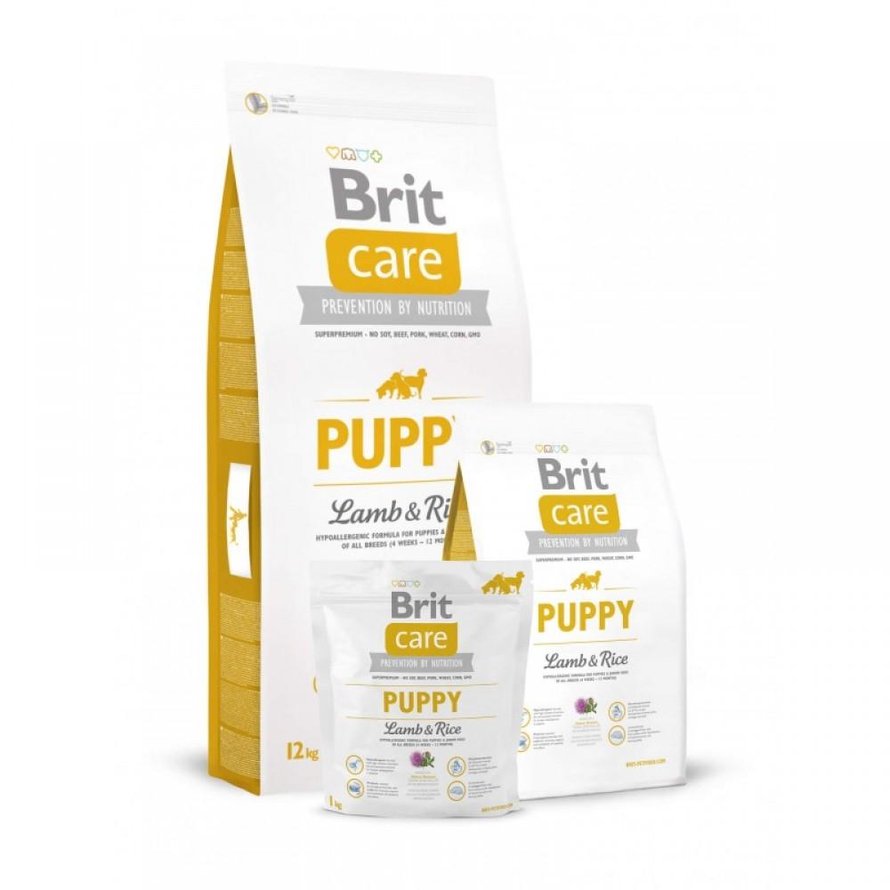 Корм для собак Brit Care Puppy All Breed Lamb and Rice