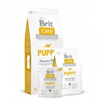 Корм для собак Brit Care Puppy All Breed Lamb and Rice