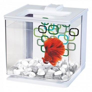 Аквариум для петушка Betta Kit EZ Care 2,5 л белый (13357)