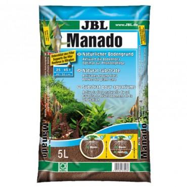 Аквариумный субстрат для растений в аквариуме JBL Manado