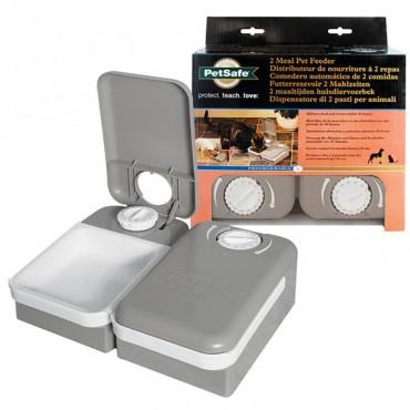 Автоматическая кормушка для котов и собак с таймером на 2 порции PetSafe Eatwell 2 Meal Pet Feader (PF2_19)