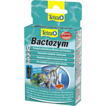 Бактерии для запуска аквариума Tetra Bactozym 10 капсул (140257)
