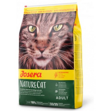 Беззерновой корм для котят и взрослых кошек Josera NatureCat