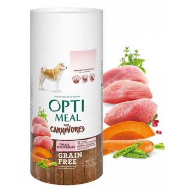 Беззерновой сухой корм для собак всех пород Optimeal индейка и овощи