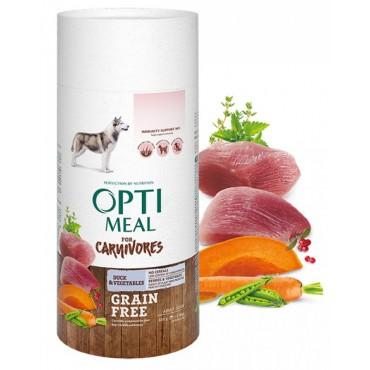 Беззерновой сухой корм для собак всех пород Optimeal утка и овощи