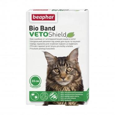 Био-ошейник для кошек Beaphar Veto Shield 35 см (от внешних паразитов) (10664)