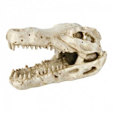 Декорация для аквариума / террариума Trixie Череп крокодила 14 см (8712)