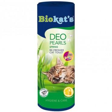 Дезодорант для кошачьего туалета Biokat's Deo Pearls Flowers, 700 гр (G-605135)