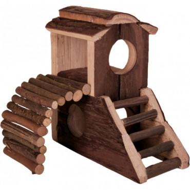 Дом-замок для хомяка Trixie деревянный (6113)
