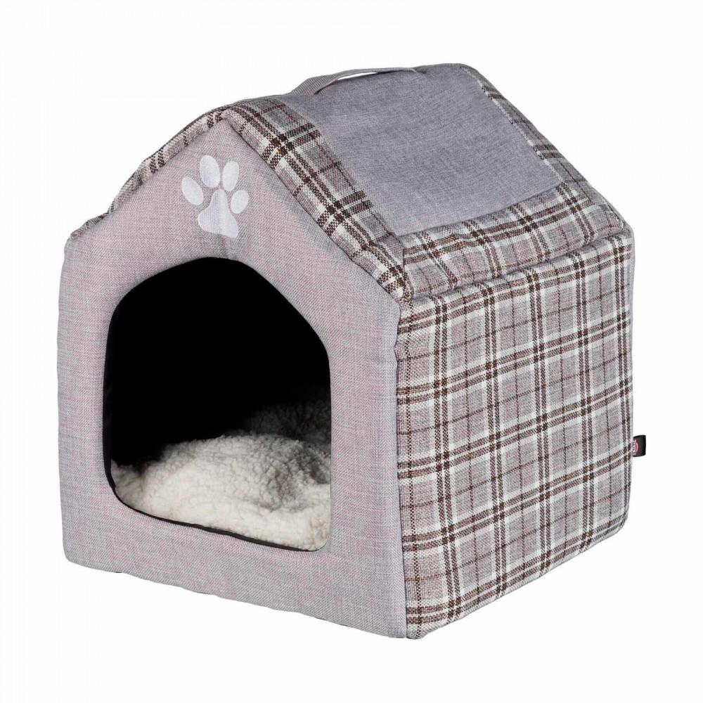 Домик для кошек Trixie Silas 40 / 45 / 40 см (серый) (36352)