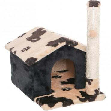 Домик с когтеточкой для кошек Природа Шале жаккард (PR740273)