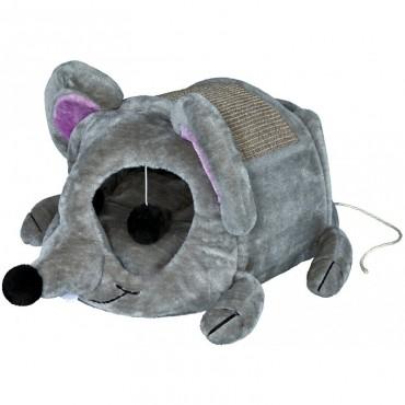 Домик с когтеточкой для кошки Trixie Lukas серый (36290)