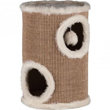Дряпка для кошек Trixie Edoardo (Cat Tower) 50 см коричневая/кремовая (4331)