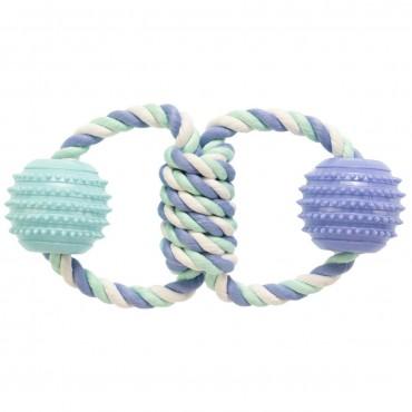 Игрушка для собак GimDog Дент Плюс два кольца с веревки с термопластичной резиной (G-80782)