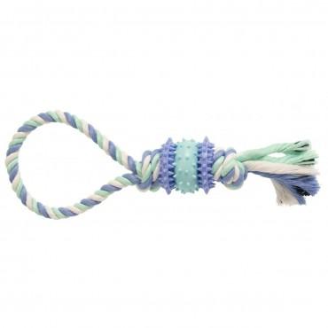 Игрушка для собак GimDog Дент Плюс веревка с термопластичной резиной, 30 см (G-80780)