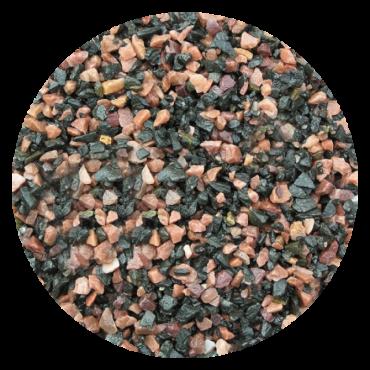 Грунт для аквариума Nechay ZOO черно-розовый мелкий 10 кг