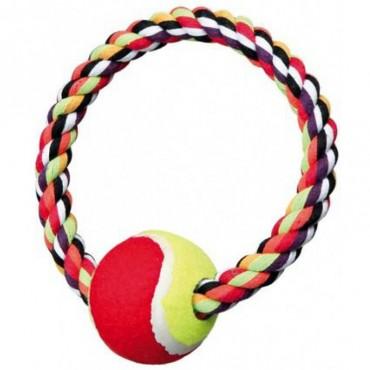 Игровой канат с теннисным мячом для собак Trixie (3266)