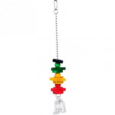 Игрушка деревянная мультиколор для попугаев Trixie (5195)