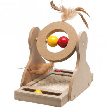 Игрушка-когтеточка для кошек Flamingo Tumbler (560148)