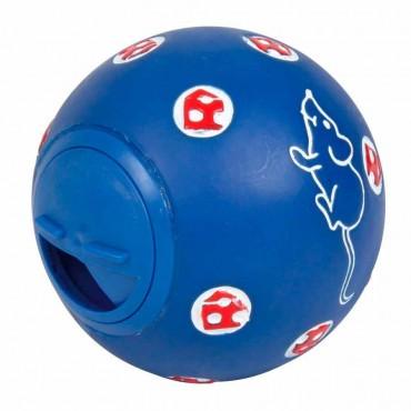 Игрушка для кошек Trixie Мяч для лакомств d=7 см (пластик, цвета в ассортименте) (4137)