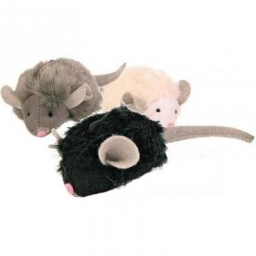Игрушка для кошки Trixie мышка-пищалка с чипом 6 см (4199)