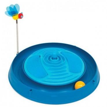 Игрушка для кота Catit 3in1 круглый лабиринт с шариком и массажером (43001)