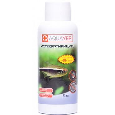 Ихтиофтирицид для аквариума Aquayer - для борьбы с ихтиофтириусом