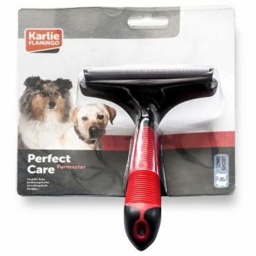 Инструмент для линяющей шерсти у собак и кошек Flamingo Furmaster L 100 мм (1030300)