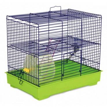 Клетка для грызунов Природа Микки с колесом (PR241526)
