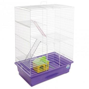 Клетка для грызунов Природа Нюра с домиком (PR241523)
