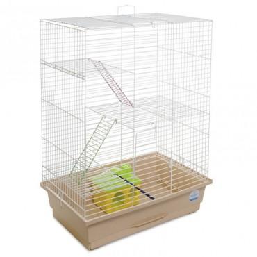 Клетка для грызунов Природа Нюра с домиком (PR241524)