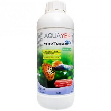 Кондиционер для аквариума Aquayer АнтиТоксин Vita