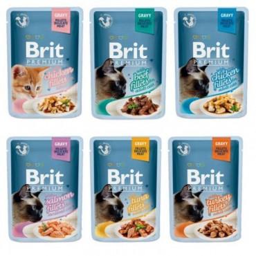 Консервы для кошек Brit Premium Cat pouch, 100 гр