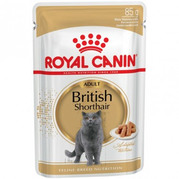 Консервы для кошек Royal Canin BRITISH SHORTHAIR ADULT 0,085 кг
