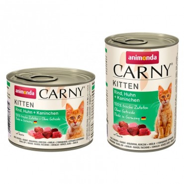 Консервы для котят Animonda Carny