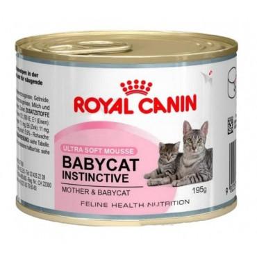 Консервы для котят Royal Canin BABYCAT INSTINCTIVE Cans, 195 гр