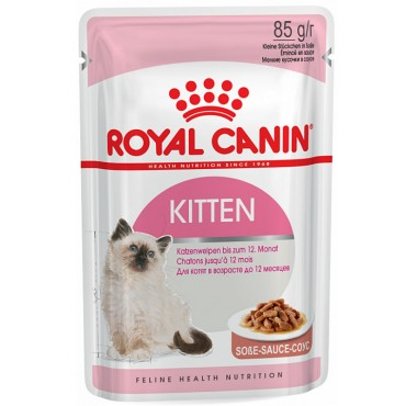 Консервы для котят Royal Canin KITTEN INSTINCTIVE IN GRAVY 0,085 кг