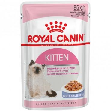 Консервы для котят Royal Canin KITTEN INSTINCTIVE IN JELLY 0,085 кг
