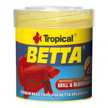 Корм для аквариумных петушков Tropical Betta 50 мл/15 гр (77062)