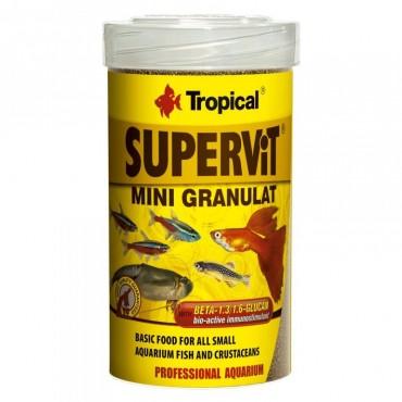 Корм для аквариумных рыб Tropical Supervit Mini Granulat 100 мл (60423)