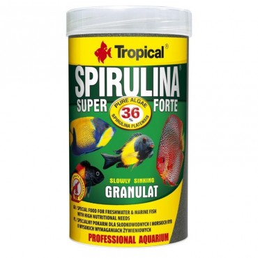 Корм для аквариумных рыбок Tropical Super Spirulina Forte Granulat 550 гр (65374)