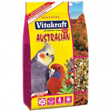 Корм для австралийских попугаев Vitakraft кактус, 750 г (21644)