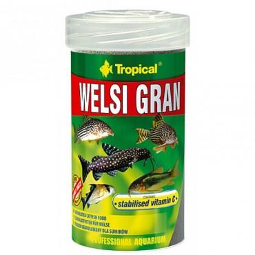 Корм для донных аквариумных рыб Tropical Welsi Gran