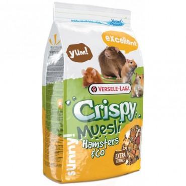 Корм для хомяков, крыс, мышей, песчанок Versele-Laga Crispy Muesli Hamster