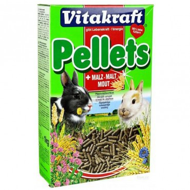 Корм для кроликов Vitakraft Pellets 1 кг (25246)