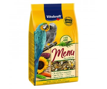 Корм для крупных попугаев Vitakraft Premium Menu