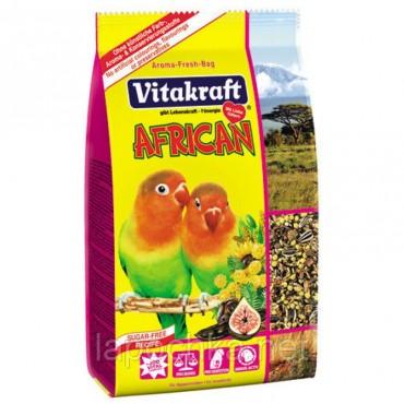 Корм для маленьких африканских попугаев Vitakraft African, 750 г (21641)