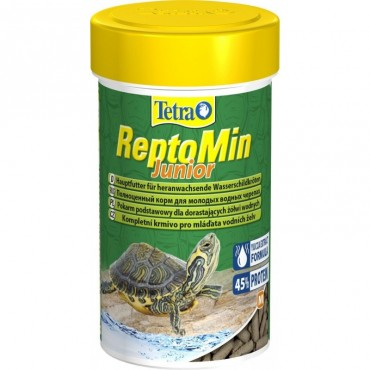 Корм для молодых водных черепах Tetra ReptoMin Junior 250 мл (258884)