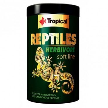 Корм для рептилий Tropical Reptiles Herbivore Soft