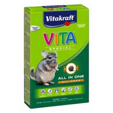 Корм для шиншилл Vitakraft Vita Reg 600 гр (25326 /25847)